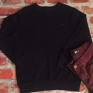 Old Navy Black Long Sleeve Knit Sweater